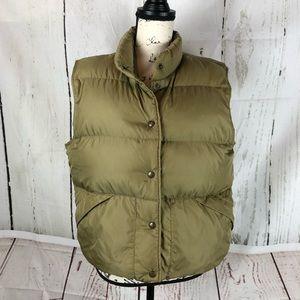 Womens Vintage LL Bean Goose Down Packable Vest L